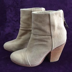 Rag and Bone Classic Newbury ankle boots size 36.5